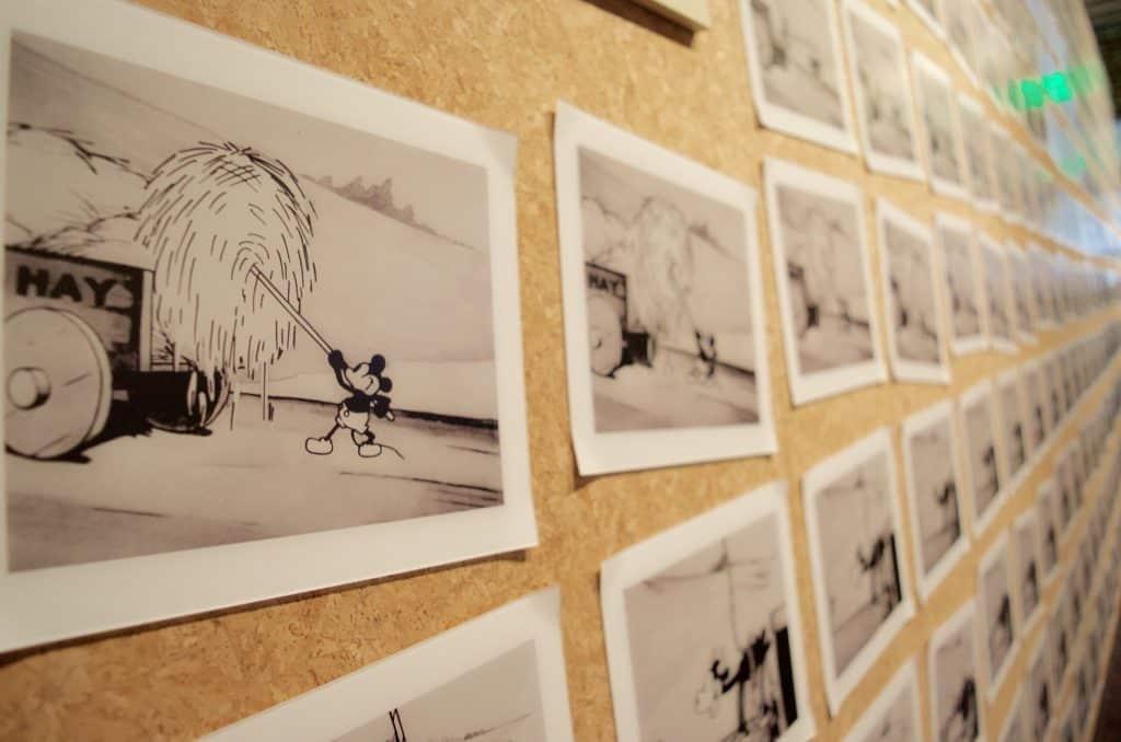 Steamboat Willie art drawings