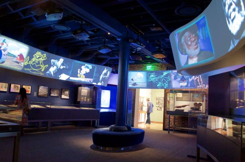 museum tech display Disney