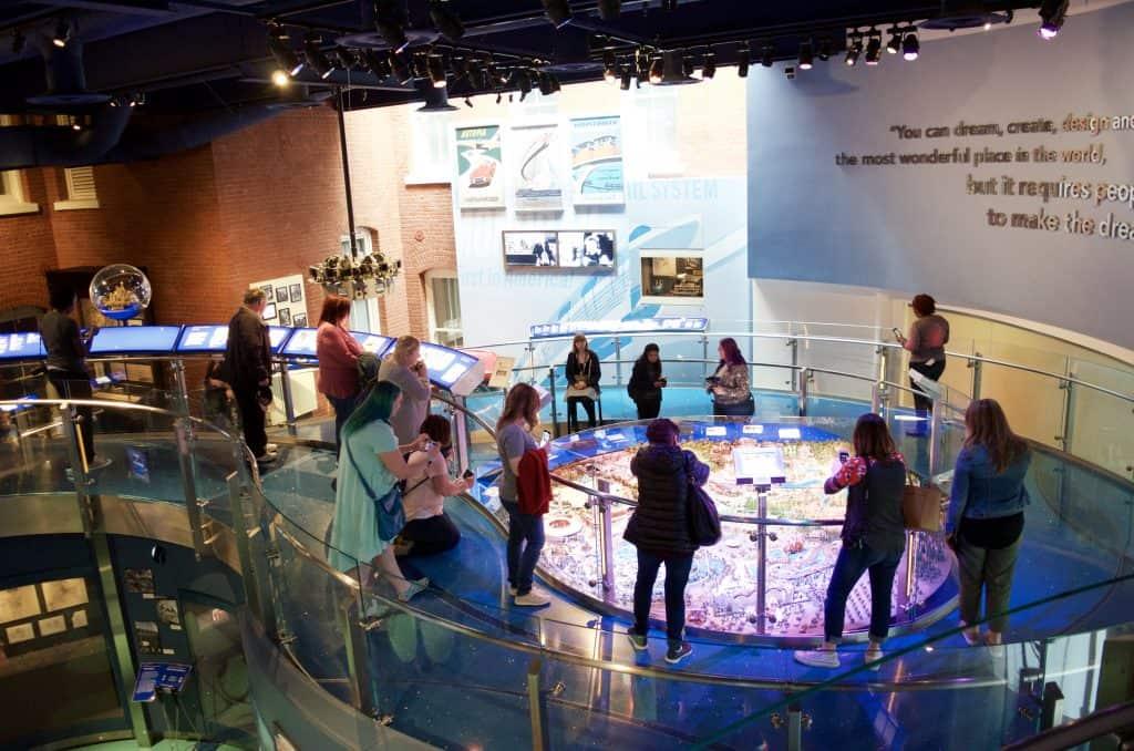 Disney Family museum display