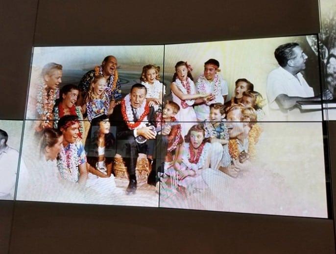 Walt Disney with friends