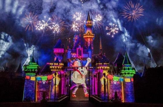 Night Fireworks Show at Disney