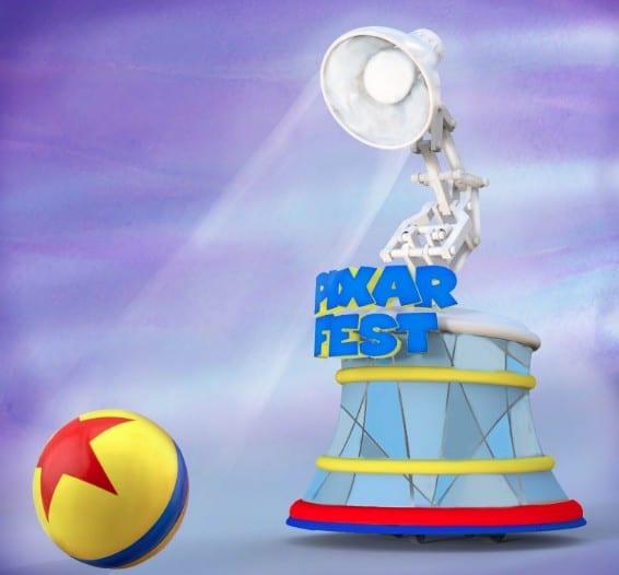 Pixar Ball & Luxo Lamp Float