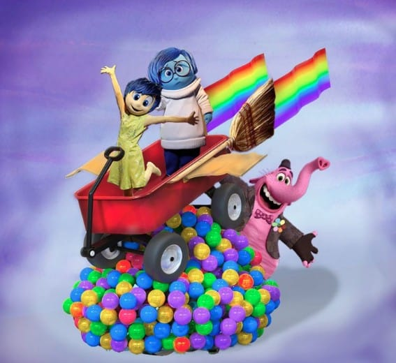 Inside Out parade float