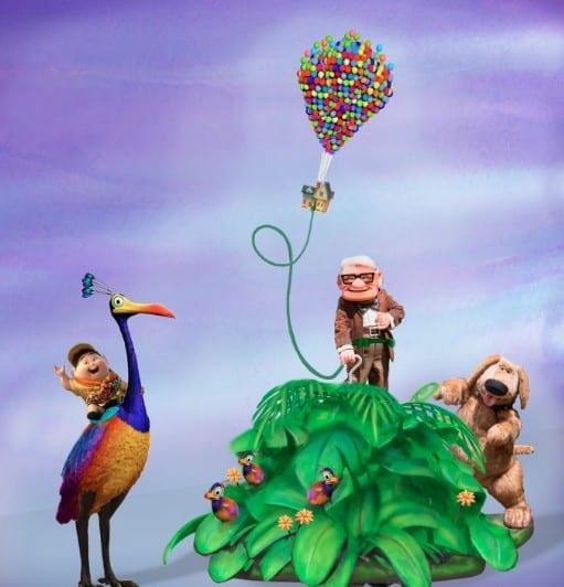 Disney Pixar Up Parade Float