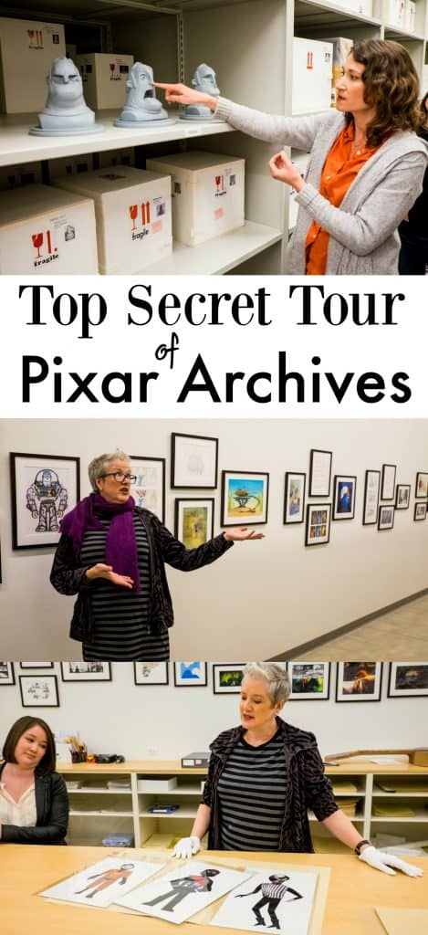 Historian in Pixar Archives