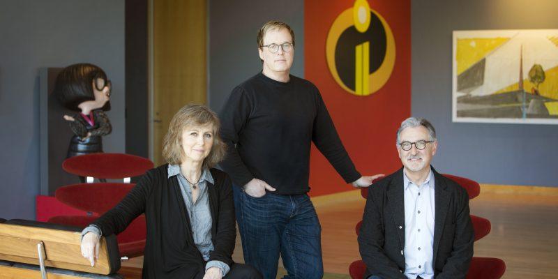 Disney Pixar Incredibles movie film team
