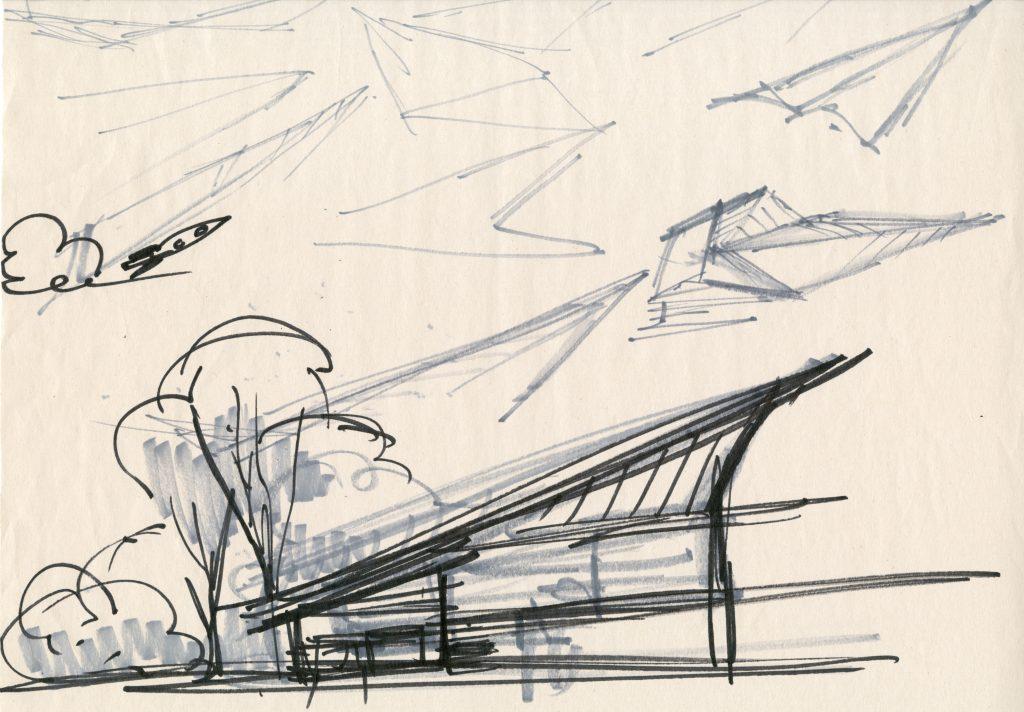 Incredibles 2 Parr House Concept art
