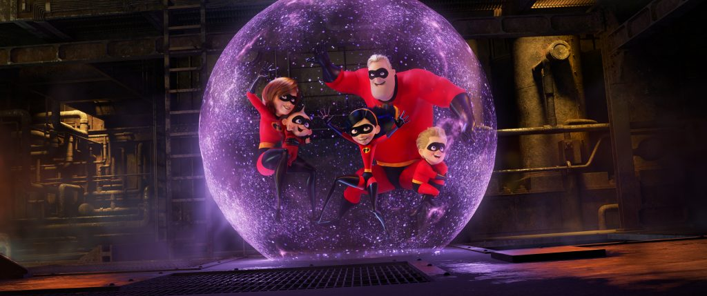 the Incredibles family powers