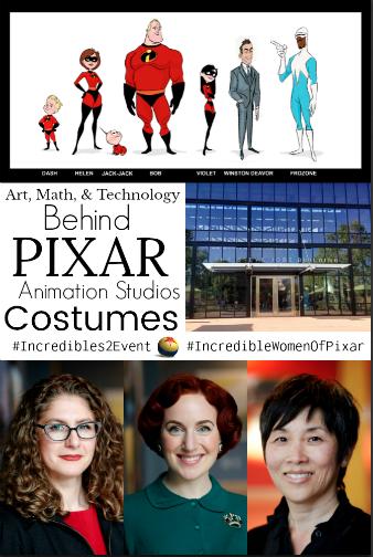 women behind the Pixar Costumes