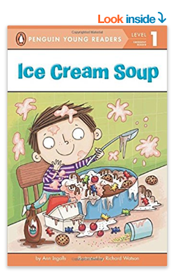 Ice Cream Soup book for kids