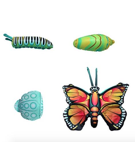 Inflatable Life Cycle set