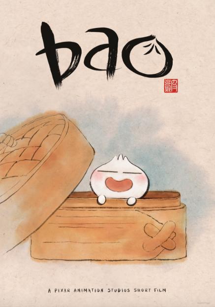original Bao short film poster Disney Pixar