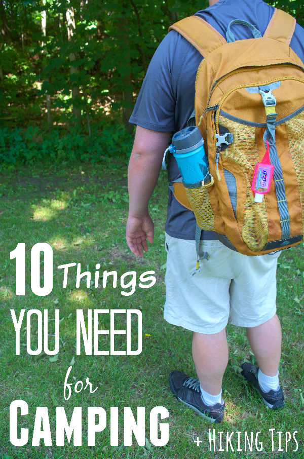 10 things for camping with kids