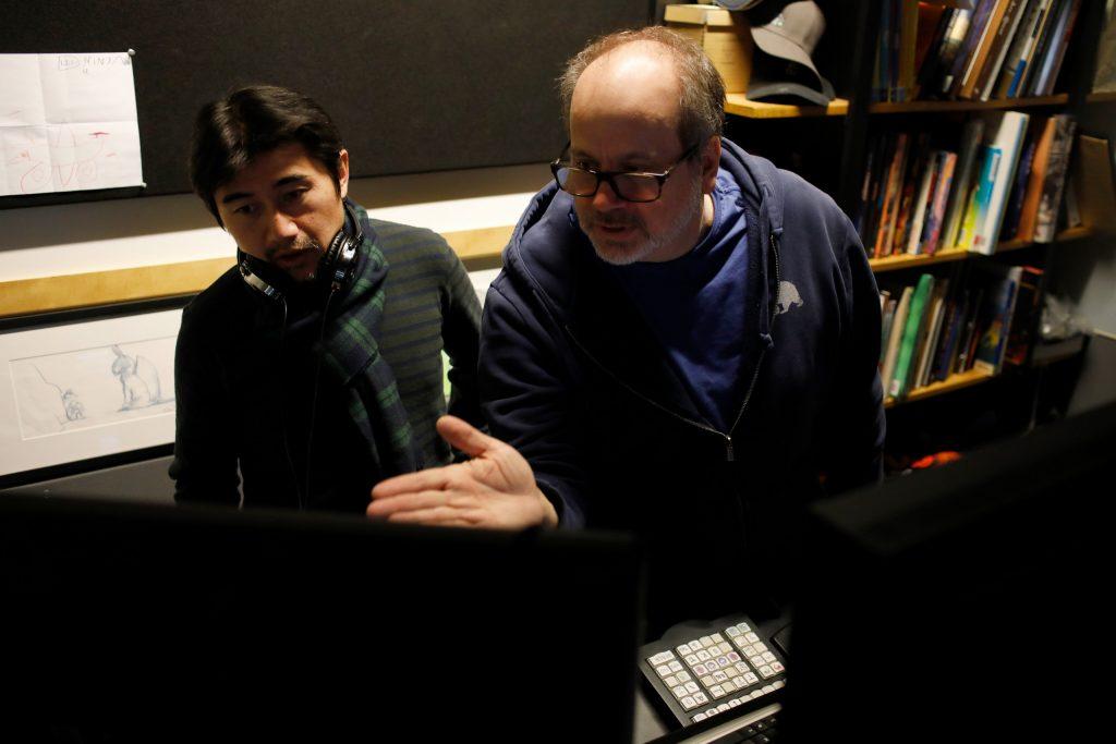 Pixar artist Tony Fucile