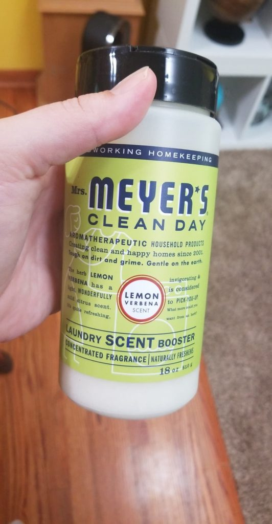 Mrs Meyers scented Laundry Booster