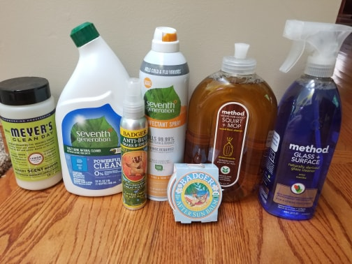 cleaning products from Grove Collaborative