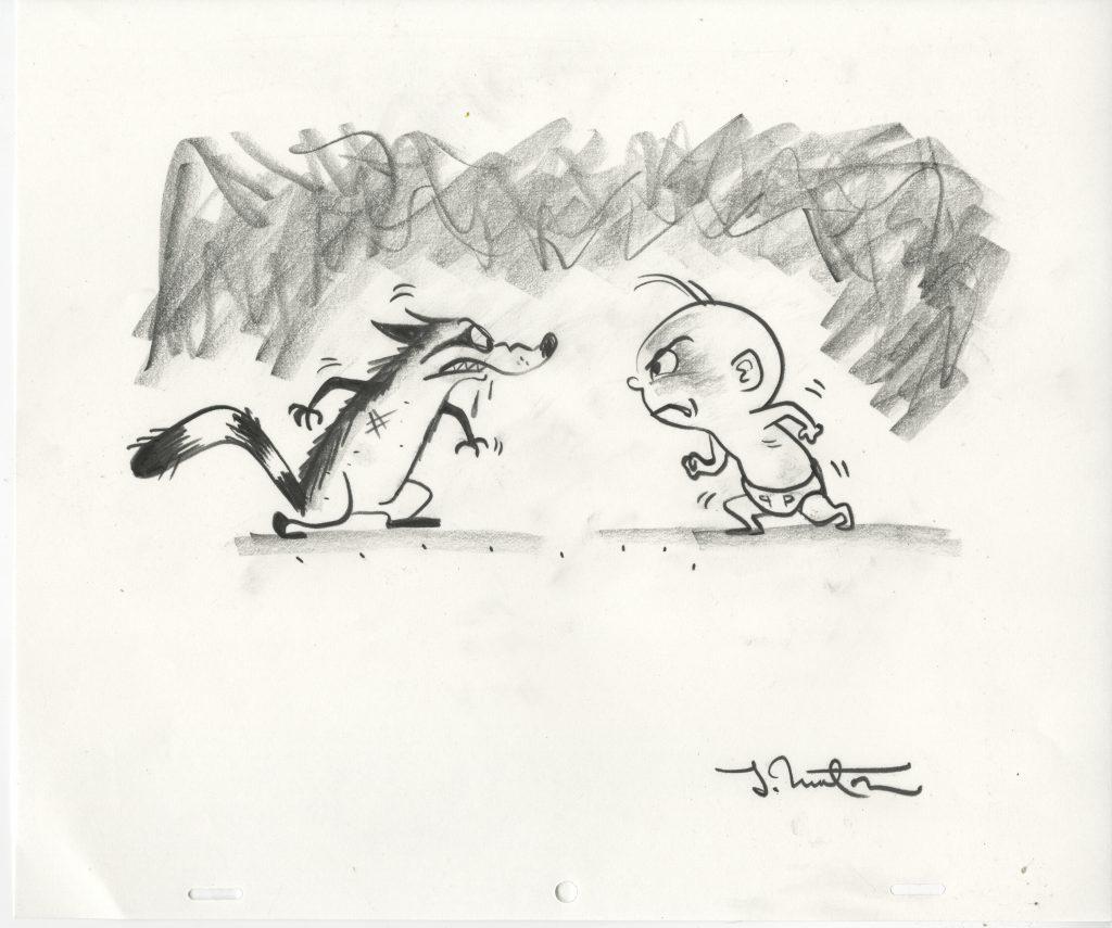 Pixar Incredibles 2 art drawings