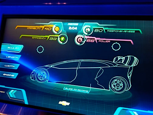 EPCOT Fast Track ride