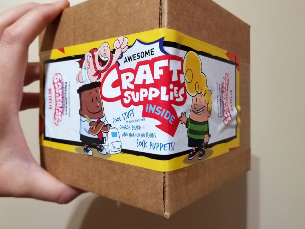 Captain Underpants craft set