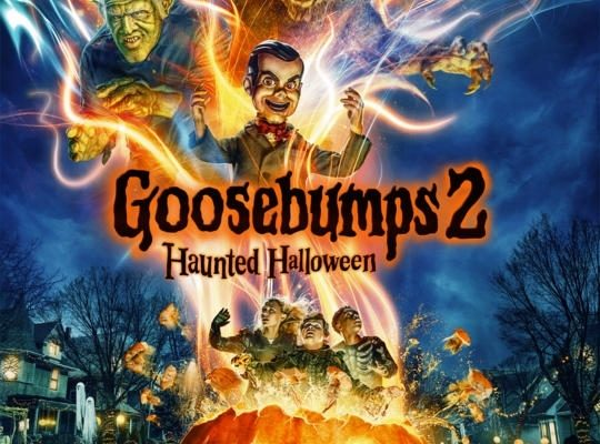 Goosebumps 2 Movie Poster