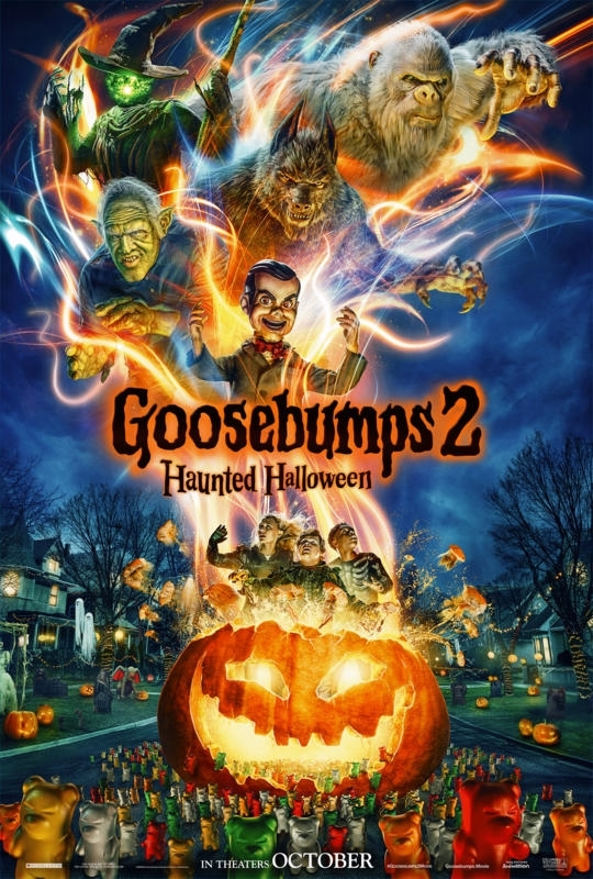 Goosebumps 2 Movie Poster