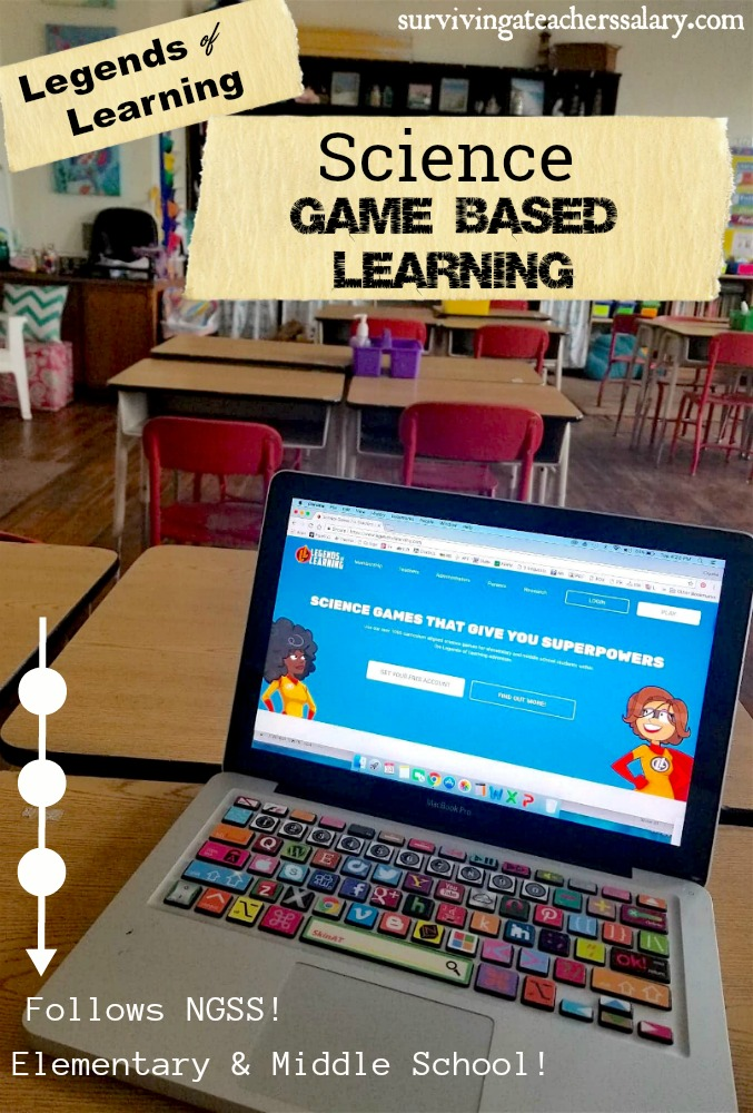 science game based learning school