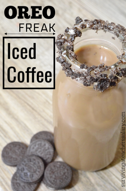 OREO Freak Iced Coffee recipe idea
