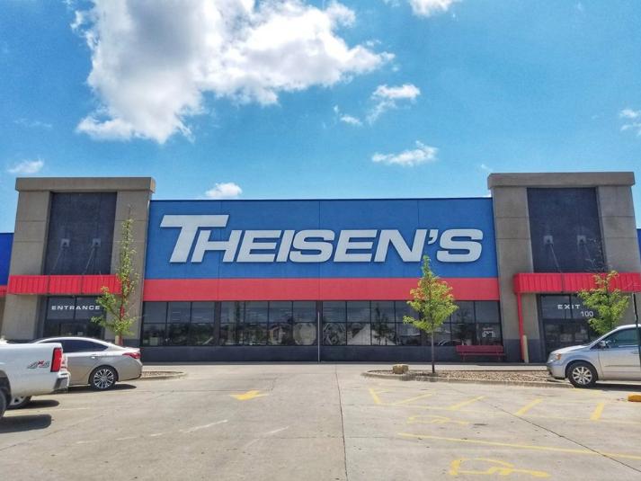 Theisen's Home Farm Auto store Iowa