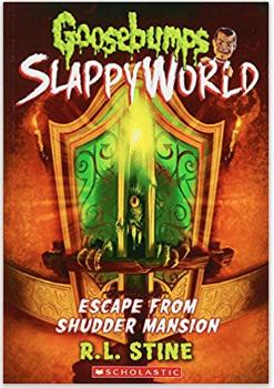 new R.L. Stine Goosebumps book Escape from Shudder Mansion