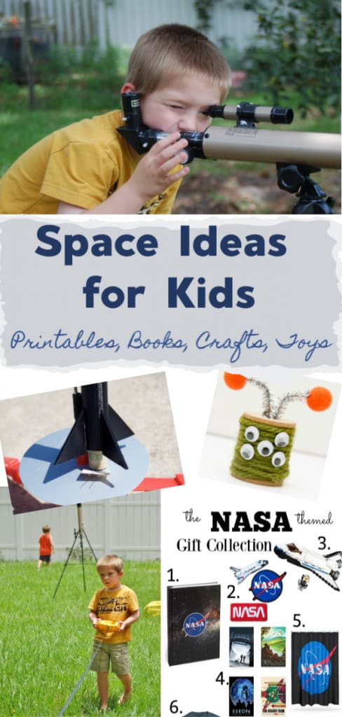 space ideas for kids, crafts printables