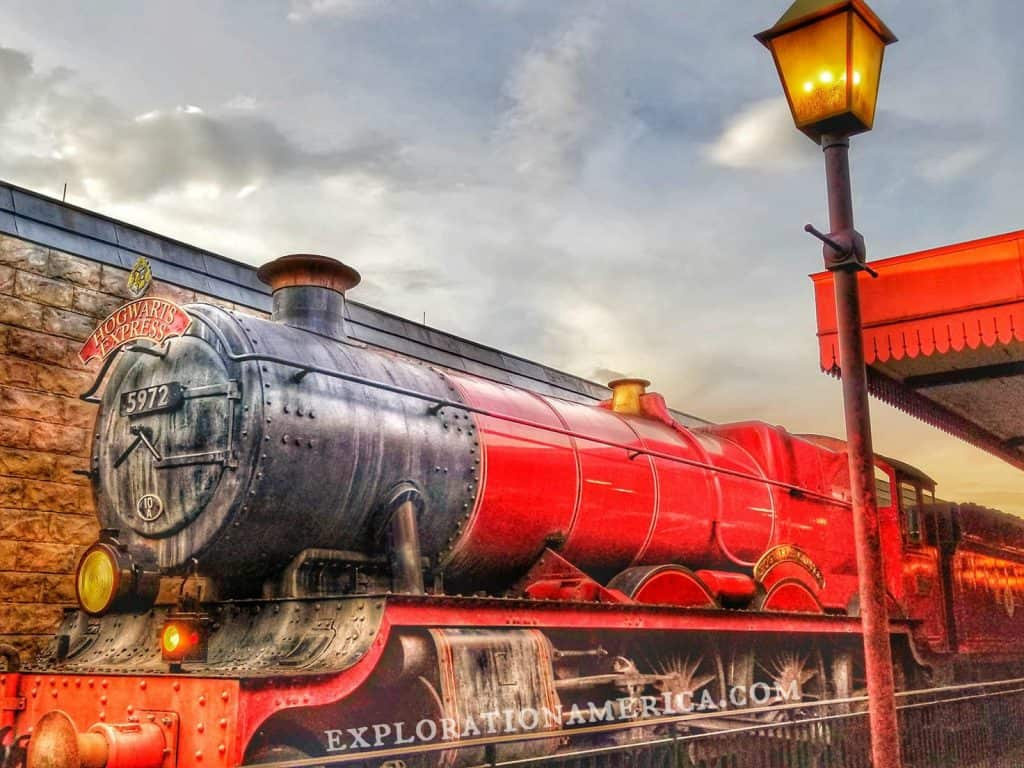 Hogwarts Express Train Universal