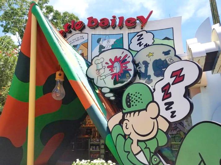 Beetle Bailey cartoon at Universal
