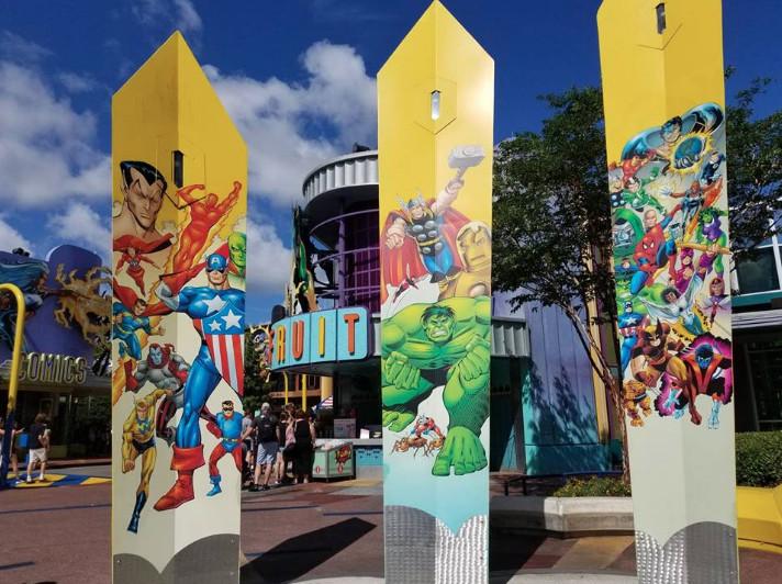 Marvel Island at Universal Orlando