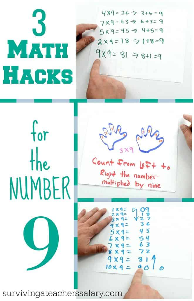 3 easy math hacks for number 9