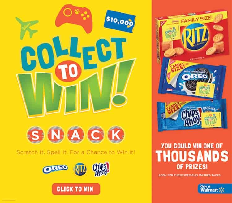 Collect to Win products