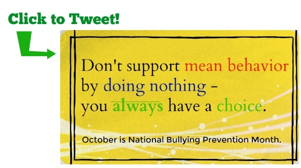 Don't support mean behavior tweet