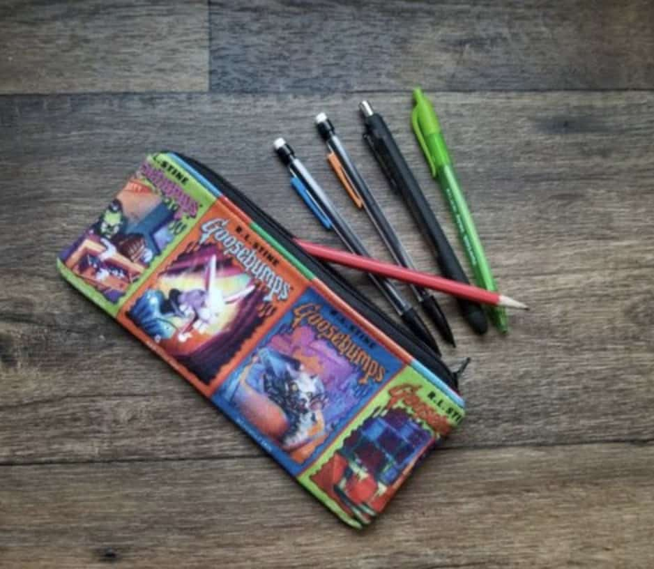 Goosebumps pencil case