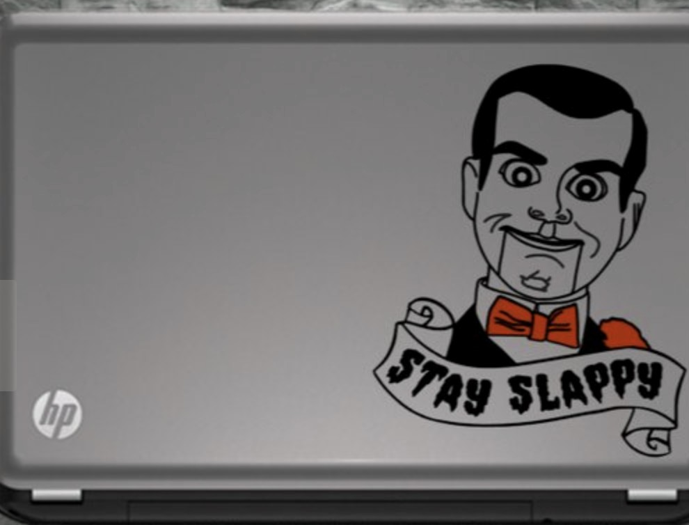 Slappy Goosebumps decal