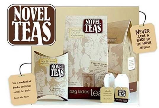 Literary Novel Teas gift