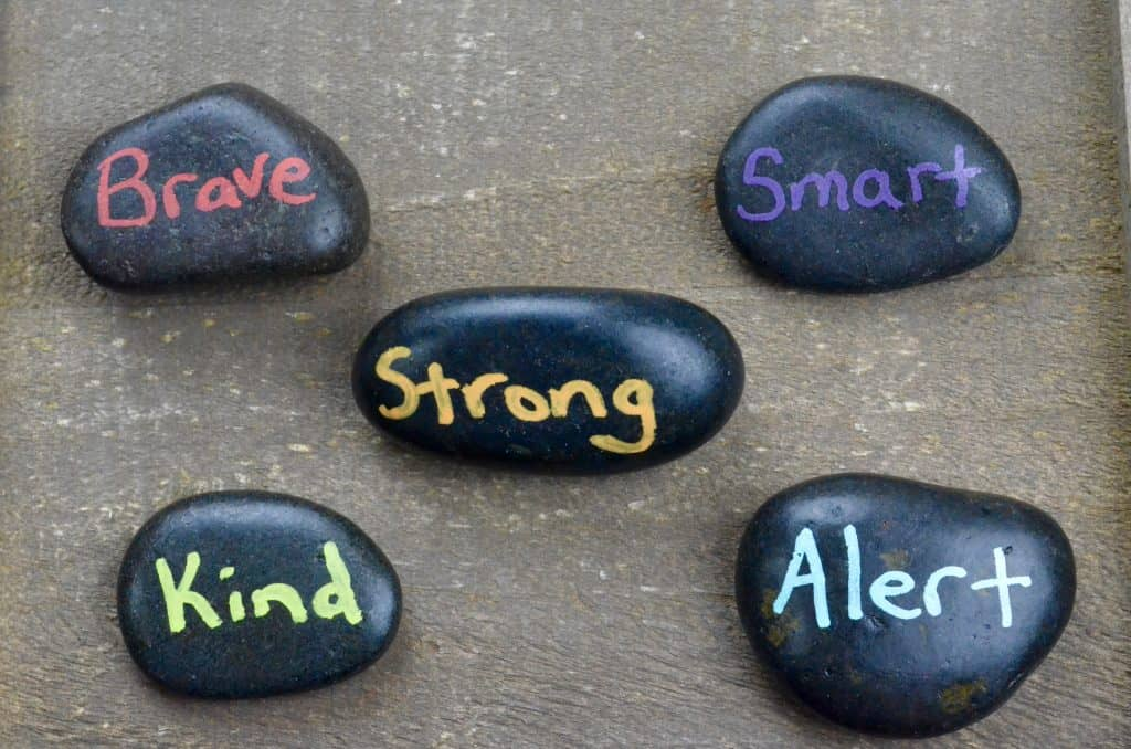 Be Kind kindness rock painting