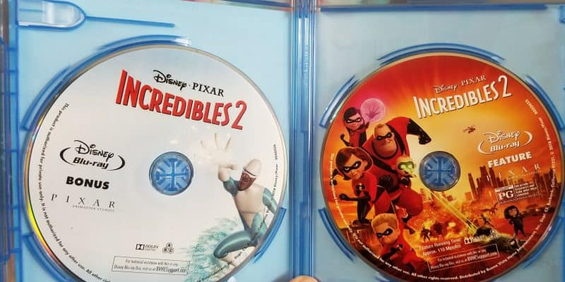 Incredibles 2 Activities for Kids + Blu-Ray Review & Auntie Edna Short Clip