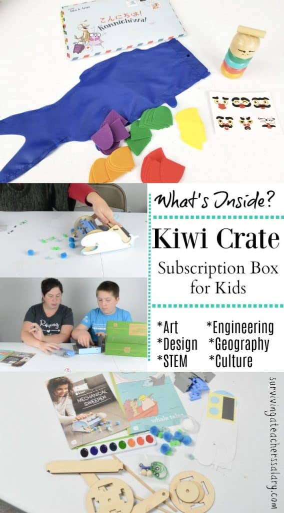 Whats Inside a Kiwi Crate Subscription Box for Kids