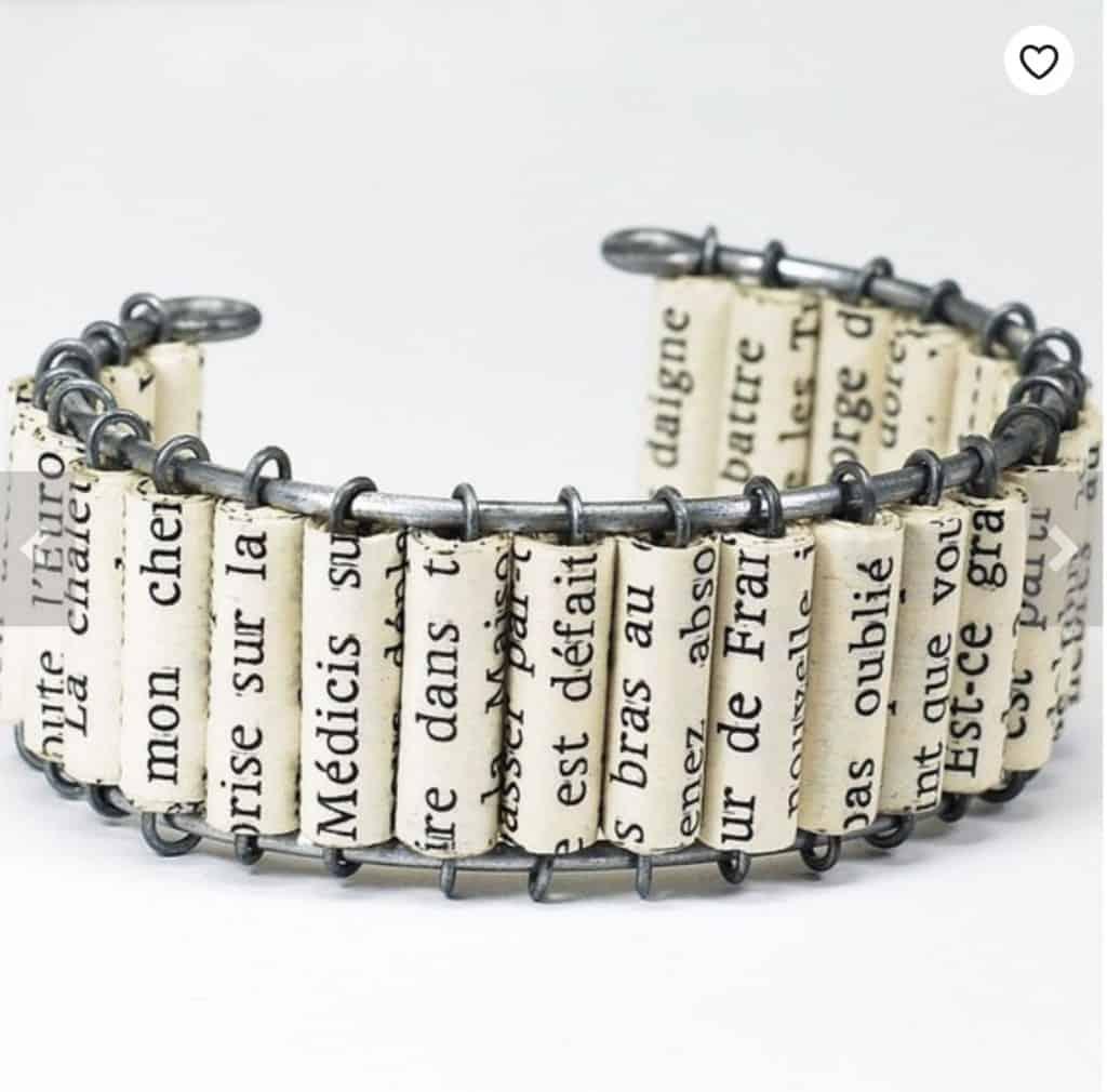 Book Scroll Bracelet