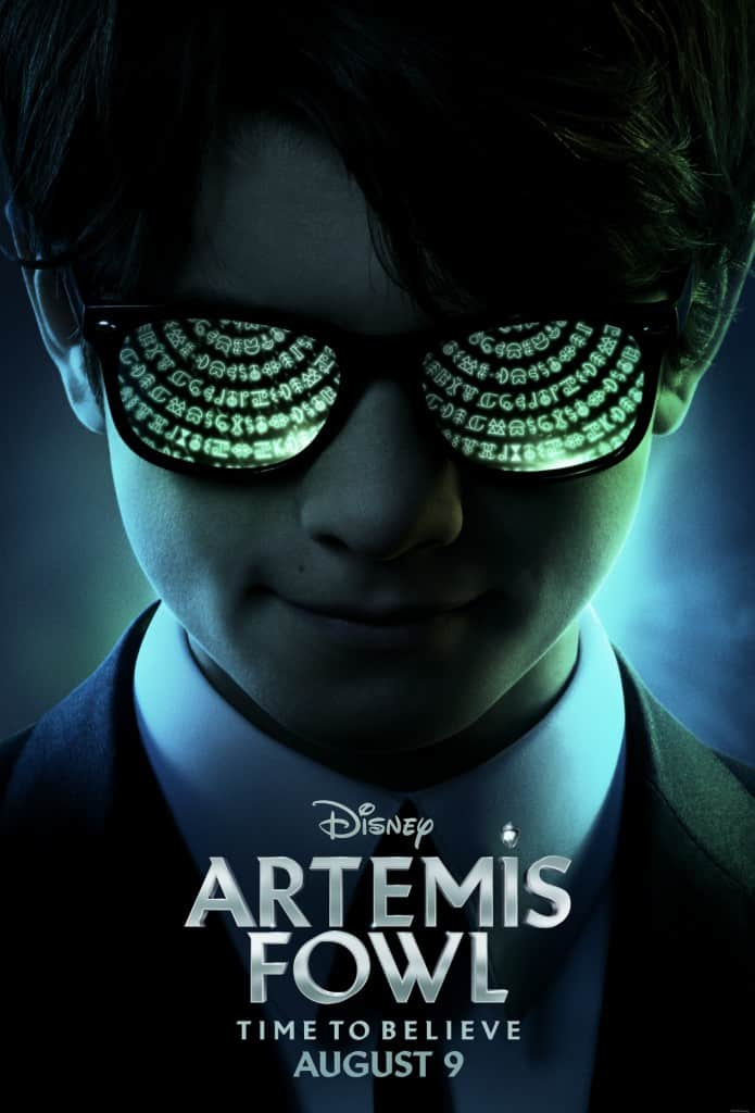 Disney Artemis Fowl movie poster