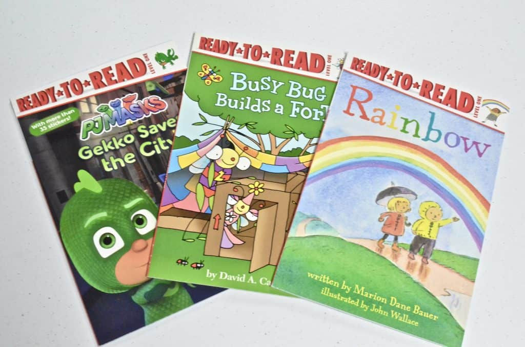 Ready to Read children's Level Books