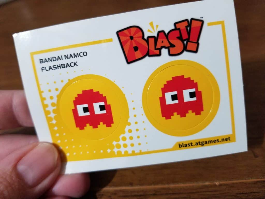 Atari Flashback Blast! stickers
