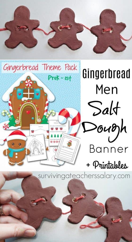 gingerbread men banner