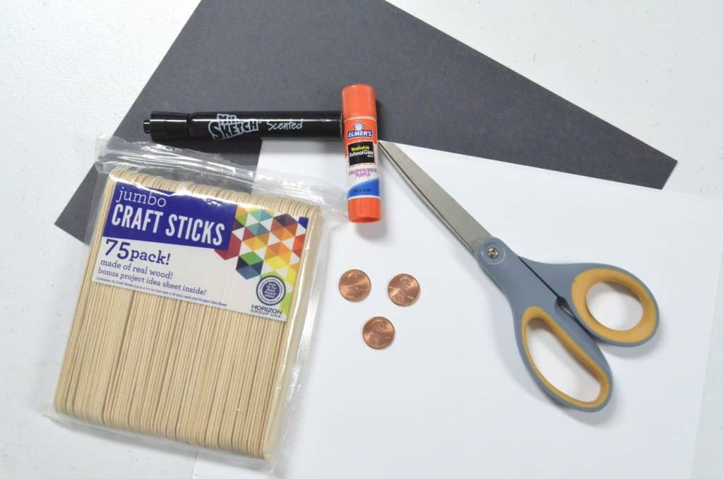craft materials for President's Day craft