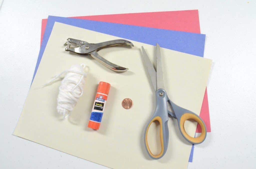 patriotic kids craft materials