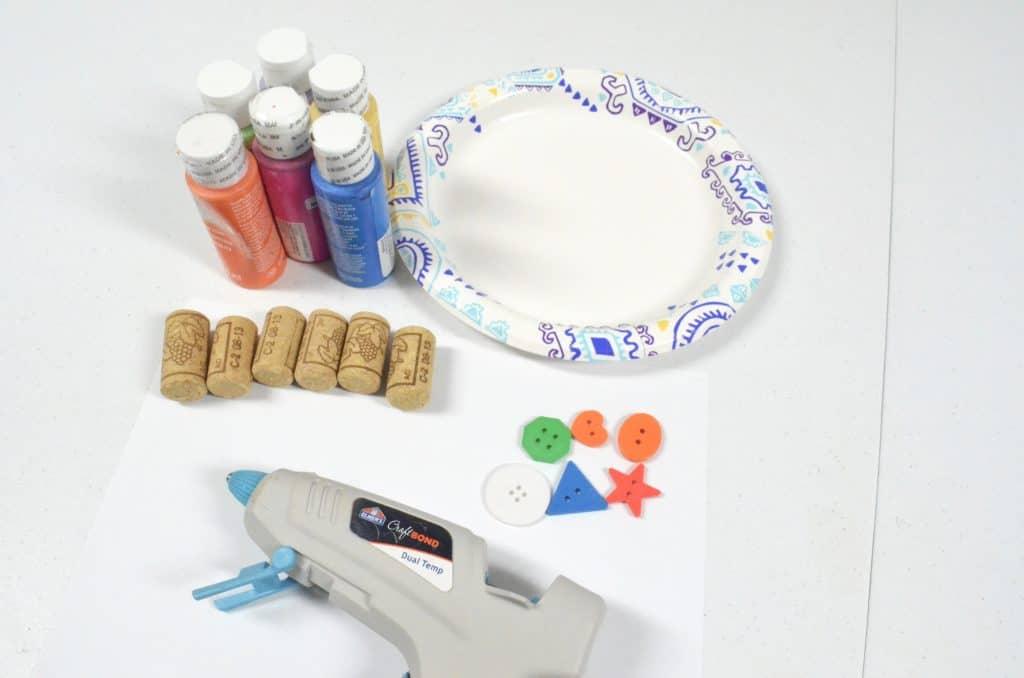 button stamps craft supplies
